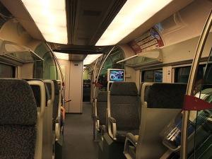 Inside KLIA Express