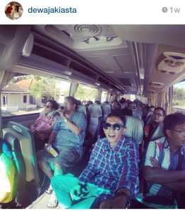 Bus tour Jogja