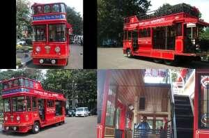 City tour bus Bandung