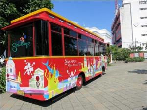 Surabaya City tour bus