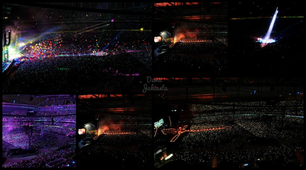 Coldplay Melbourne 2016