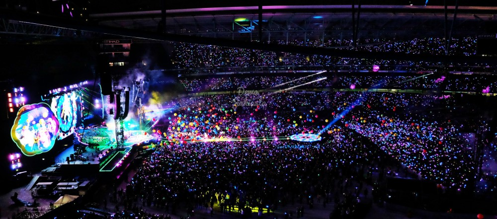 Coldplay Music Tour